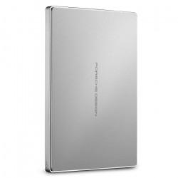 Dysk zewnętrzny LaCie Porsche Design 2TB USB C 2,5'' Slim STFD2000400 Silver